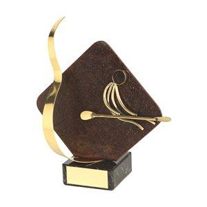 Trofeo hierro oxidado figura Piragua  varios tamaños.  Ref - BP2235