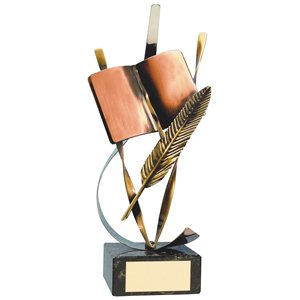 Trofeo literatura  varios tamaños.  Ref - BP329