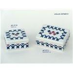 Caja Cuadrada Peq. MOSAICO 6*6*3 Ref G6110