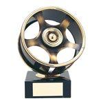 Trofeo llanta automobilismo  varios tamaños.  Ref - BP420