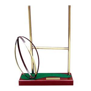 Trofeo rugby portería  varios tamaños.  Ref - BP691