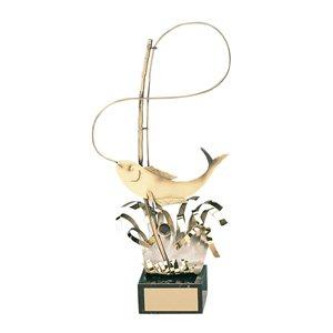 Trofeo pesca  varios tamaños.  Ref - BP945