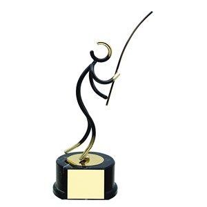 Trofeo deportivo figura latón cm 17 Pesca Ref BP700/1PS